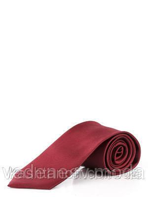 Галстук узкий бордовый , шелк высокого качества.