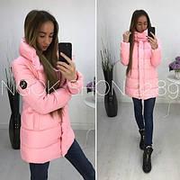 Пальто зимнее, удлиненная зимняя куртка