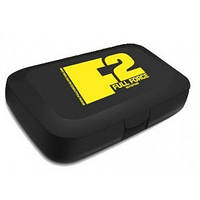 Таблетница Full Force Pill Box black with yellow FF logo