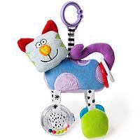 Игрушка-подвеска на прищепке Taf Toys Дрожащий котик g11745, фото 1