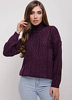 Стильный женский вязаный свитер.Разные цвета, фото 1