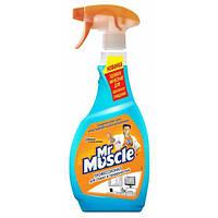 Средство для мытья стекол, Мистер Мускул, 500мл