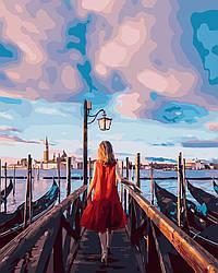 Картина по номерам В ожидании Гондолы, 40x50 см., Brushme