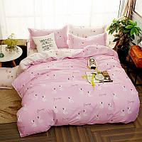 Комплект постельного белья Flamingos Floating (полуторный) Berni 4a8f8cae257bc