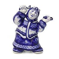 Декоративная фигурка из гжели Ложкариха