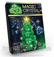 Набір з вирощування кристалів Ялинка зелена (ОМС-01-03)