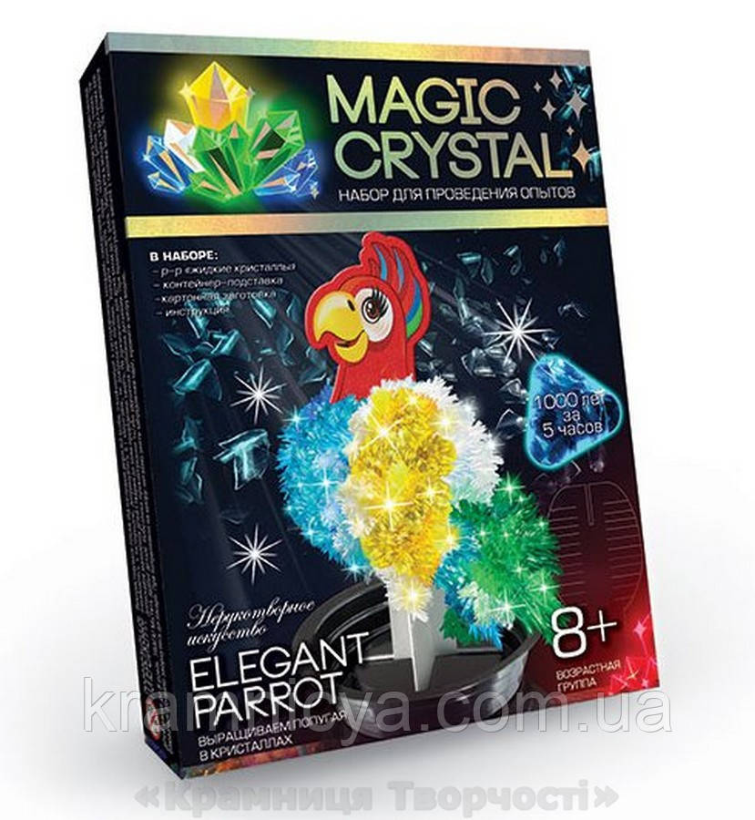 Набор по выращиванию кристаллов Попугай (ОМС-01-06)