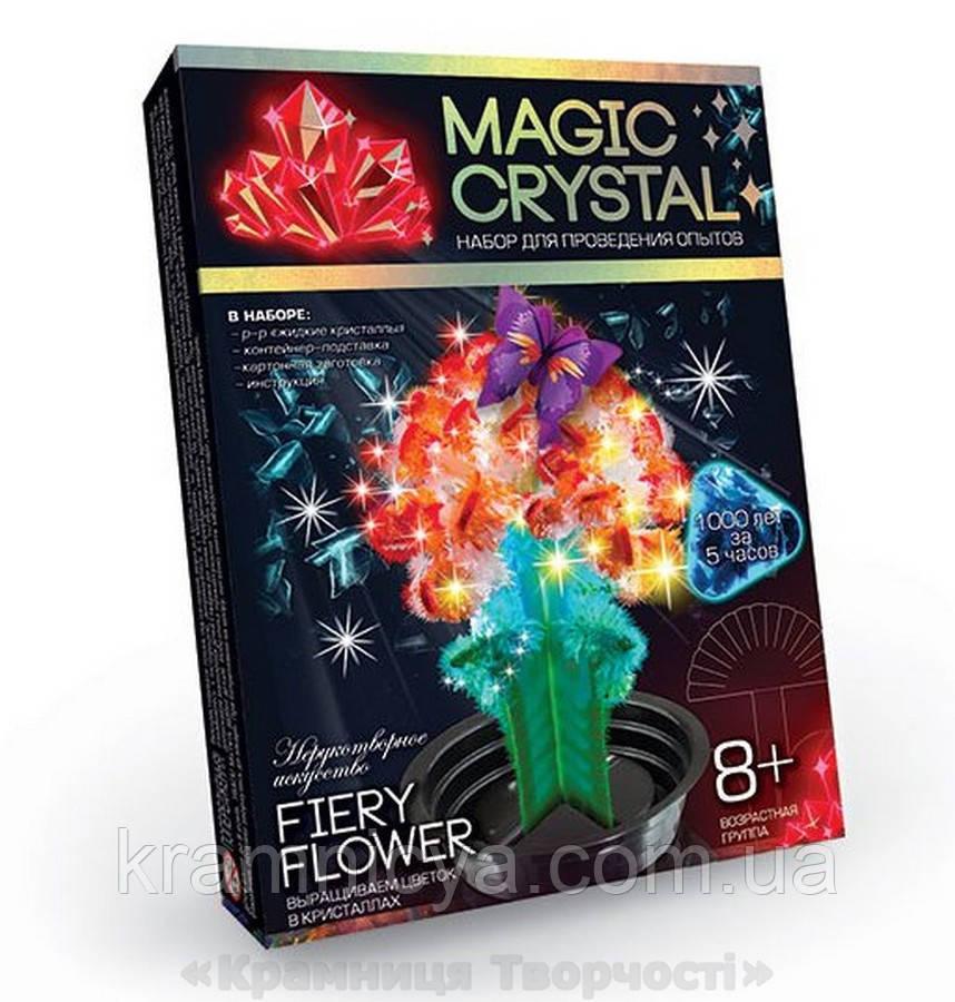 Набор по выращиванию кристаллов Цветок (ОМС-01-08)