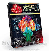 Набір з вирощування кристалів Квітка (ОМС-01-08)