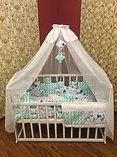 """Детский постельный набор в кроватку Bonna """"Пазлы"""""""