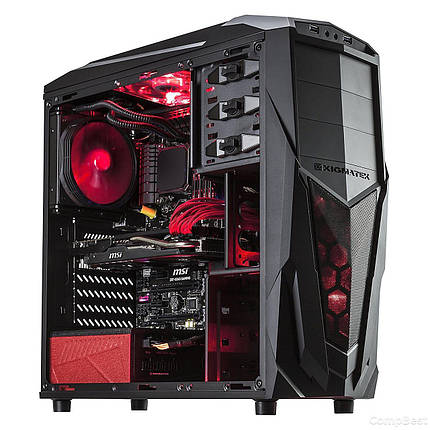 Новый Xigmatek Tower / Intel Core i7-4770 (4(8) ядра по 3.40-3.90GHz) / 500GB HDD + Новый 240GB SSD / 16GB DDR3/ USB 3.0, Новый БП 600W Chieftec/, фото 2