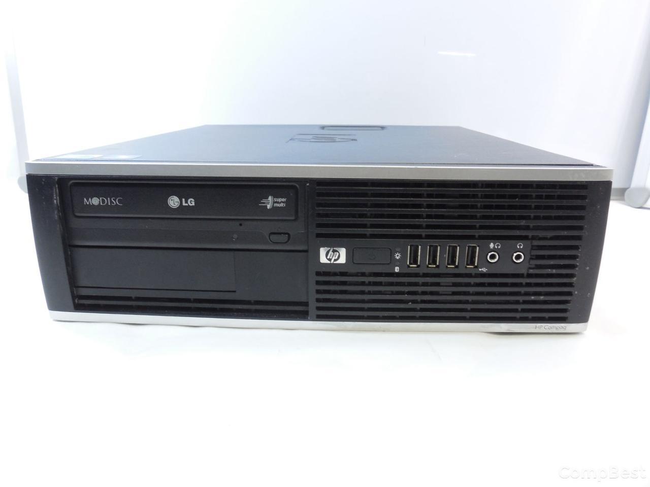 HP 6000 SFF / Intel Core 2 Quad Q6600 (4 ядра по 2.4GHz) / 4 GB DDR3 / 160 GB HDD