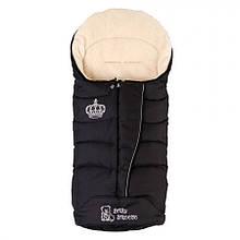 Конверт на овечьей шерсти Baby Breeze 0358 (черный)