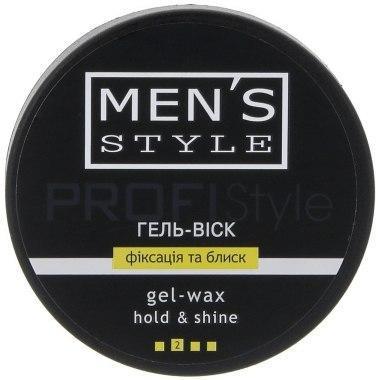 Гель-воск MEN'S Style (Фиксация и блеск) (80мл.)