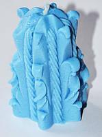 Форма силиконовая Свеча Плетеная 3D Люкс