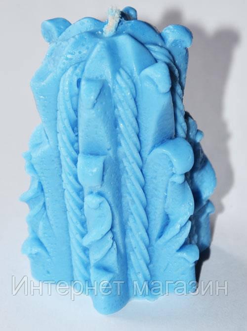 Форма силиконовая Свеча Плетеная 3D Люкс  - Мыльная Фабрика в Кременчуге