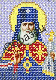 Схема для вышивки бисером «Святитель Лука исповедник»