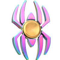 Спиннер паук металл градиент Антистресс Hand Spinner