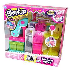 Игровой набор Шопкинс Обувной бутик с аксессуарами 3 сезон Shopkins Fashion Spree Shoe Dazzle