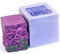 Форма силиконовая Эльф-куб  3D Люкс