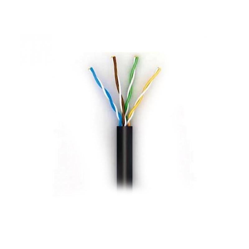 Кабель для внешней прокладки OK-Net КПП-ВП (100) (OKOUTP42051305) UTP, CAT5e, 4х2х0.51 мм, медь,  бухта 305м