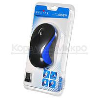 Мышь Oklick 605SW беспроводная, 1200dpi, USB, чёрно-синий, фото 5