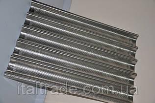 Противень 600х400, алюминиевый багетный, 5 волн