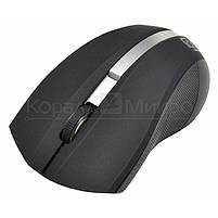 Мышь Oklick 615MW беспроводная, 1200dpi, USB, чёрно-серебристый, фото 2