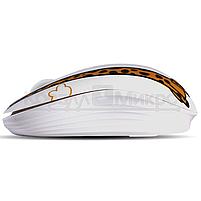 Мышь Crown CMM-928W giraffe беспроводная, 1600dpi, USB, принт жираф, фото 2