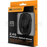 Мышь Canyon CNS-CMSW5B беспроводная, 1280 dpi, USB, чёрный, фото 2
