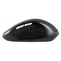 Мышь Oklick 465MW беспроводная, 1600dpi, USB, чёрный, фото 3