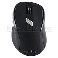 Мышь Oklick 465MW беспроводная, 1600dpi, USB, чёрный, фото 4