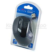 Мышь Oklick 465MW беспроводная, 1600dpi, USB, чёрный, фото 5