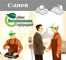 Обмен картриджей Canon