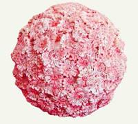 Форма силиконовая Цветочный шар  3D Люкс
