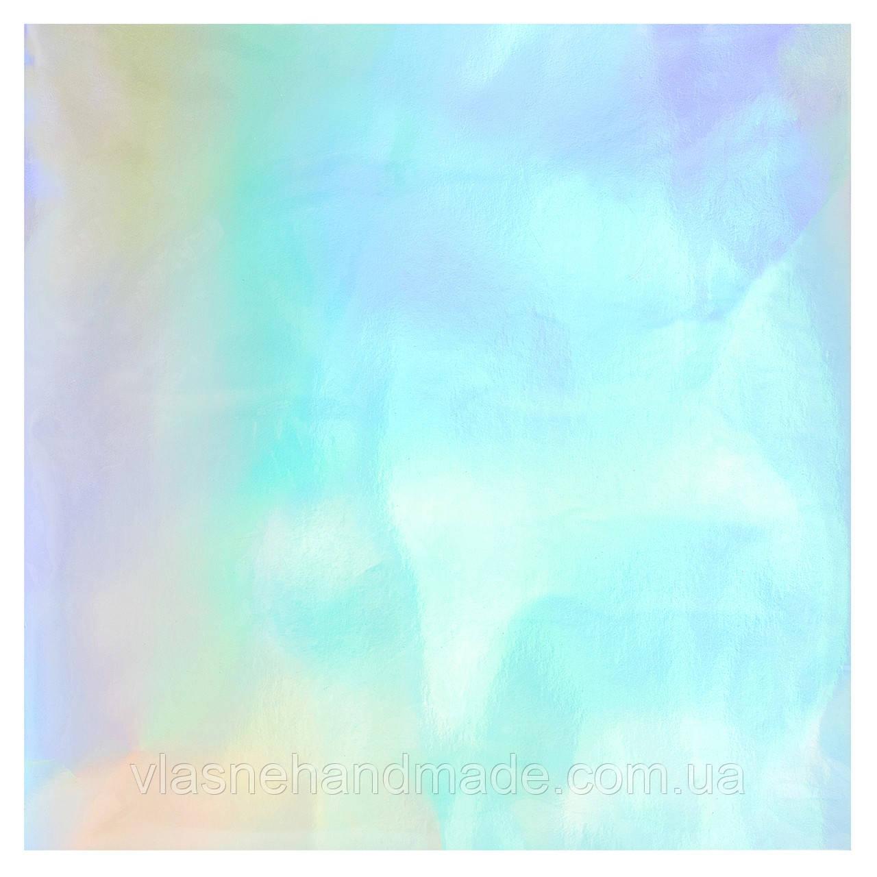 Кардсток голграфічний - Rainbow - Bazzill - 30x30