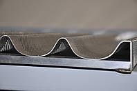 Противень 600х800, алюминиевый багетный, 10 волн