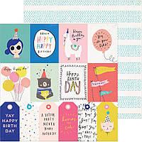 Папір двосторонній - For You - Hooray - Crate Paper - 30х30
