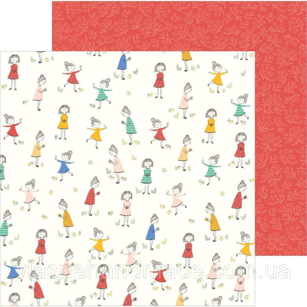 Папір двосторонній - Frolocking - Along The Way - Jen Hadfield - 30х30