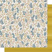 Папір двосторонній - Meadow Floral - Goldenrod - One Canoe Two - 30x30