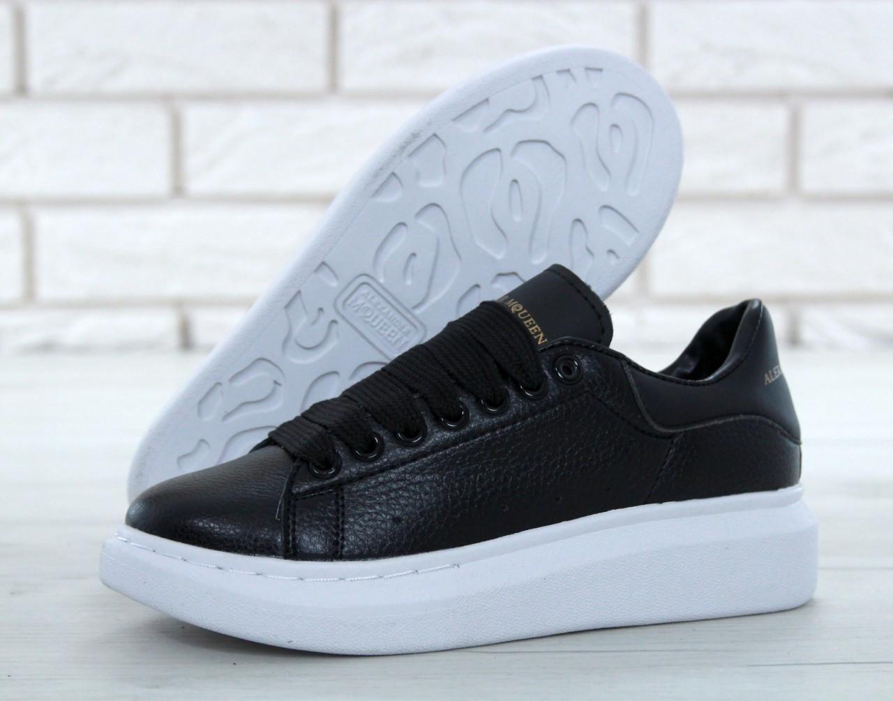 5bba60ab Женские демисезонные кроссовки Alexander McQueen Oversized Sneakers топ  реплика - Интернет-магазин обуви и одежды