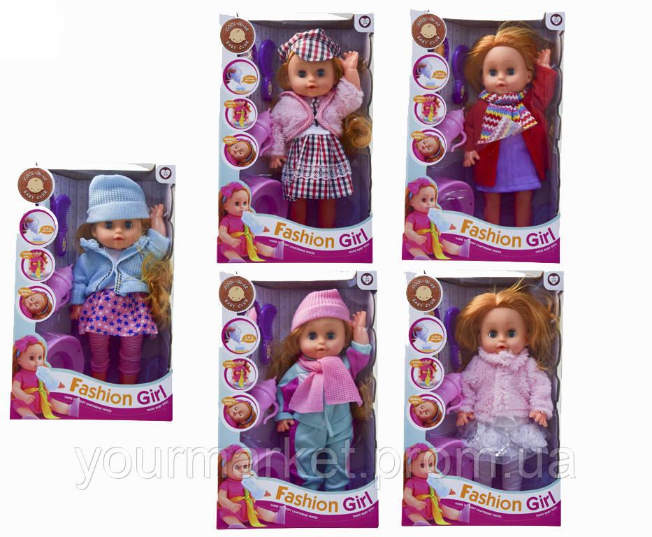 Кукла функц  6631-21A/34A/25A/26A/24A/39A  5вид,муз,пьет/пис,горшок,бу