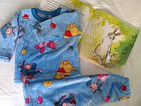 Теплая пижама для мальчиков и девочек