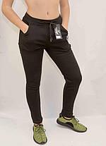 Штани жіночі спортивні зимові на хутряній підкладці - Бджілка S -XL, фото 3