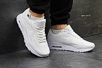 Кроссовки мужские Nike Air Max1 Ultra Moire белые, фото 1
