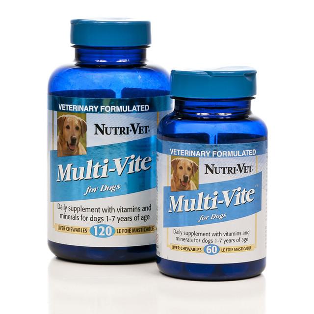 Витамины для щенков и кормящих собак