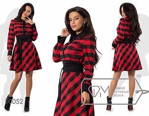 Женское платье (138)1728. (3 цвета) Размеры: 42, 44, 46. Ткань: котон принт., фото 2