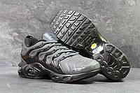 Кроссовки NIKE черные с серым ,Nike Air Vapormax Plus   ТОП КАЧЕСТВО!!! Реплика, фото 1
