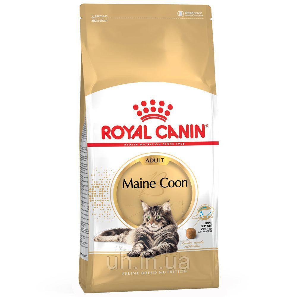 Royal Canin Maine Coon Adult сухой корм для кошек от 1 года 10КГ