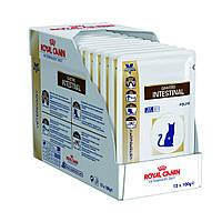 Royal Canin VD Feline Gastro-Intestinal влажный лечебный корм для кошек при нарушениях пищеварения 0,1КГ 12шт